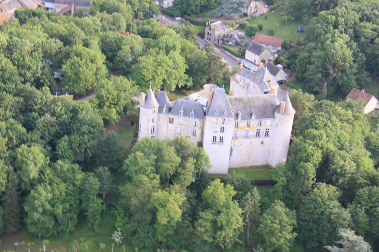 le château de St Brisson